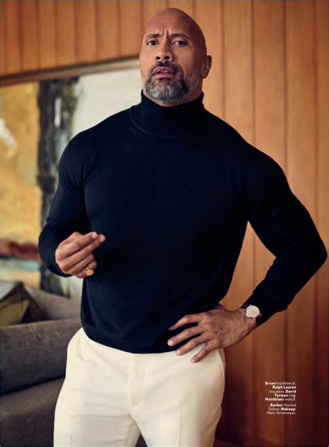 dwayne johnson the rock music dwayne the rock johnson is seriously chic for instyle shoot