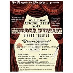 murder mystery dinner theater in morgantown wv aug 24 2013 8 00 pm eventful