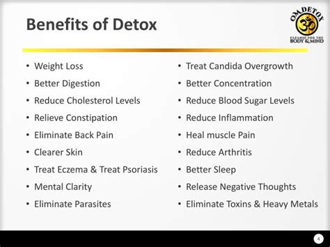 Benefits Of Detoxing by Ppt 7 Day Detox Colon Cleanse Programs Powerpoint