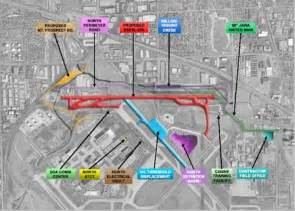 Chicago International Airport Map by North Airfield Developments At Chicago O Hare