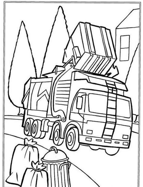 Free Coloring Pages Of Trash Pack Garbage Truck | free coloring pages of trash pack garbage truck