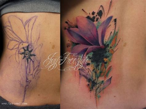 watercolor tattoos before and after 55 cover up tattoos before and after tattoos