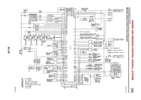 nissan ecu wiring diagram efcaviation