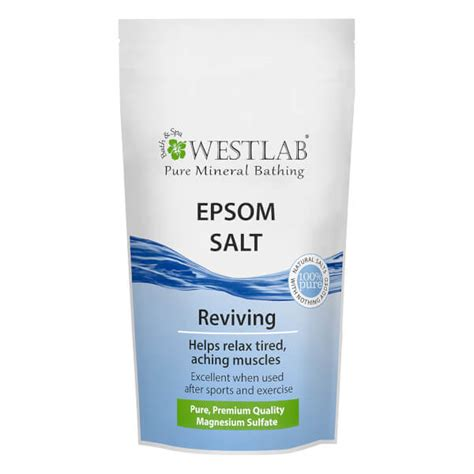 Heavy Metal Detox Epsom Salt Bath by Westlab Epsom Salt 5kg Buy Mankind