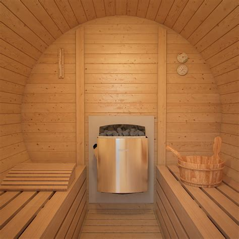 Promo Rumah Hamster Hamster Wooden House Rounded Roof Am092 isidor barrel sauna m2 premium 2 96m with porch optional heater selection ebay