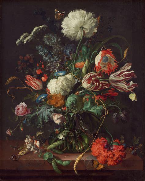 Jan Davidsz De Heem Vase Of Flowers flemish painting newhairstylesformen2014