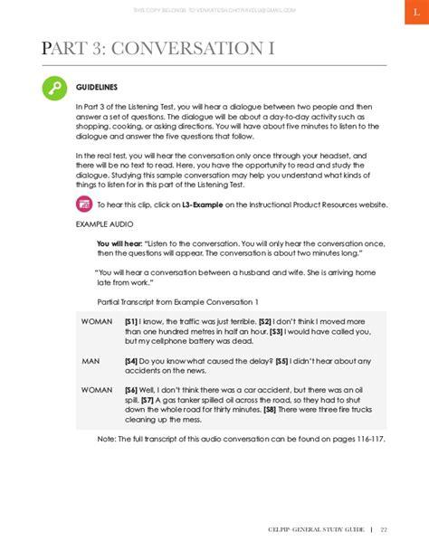 Celpip Study Guide