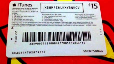 Itunes Store Gift Card - image gallery itunes card codes unused 2014