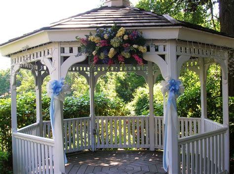 gazebo decorations the 25 best outdoor wedding gazebo ideas on