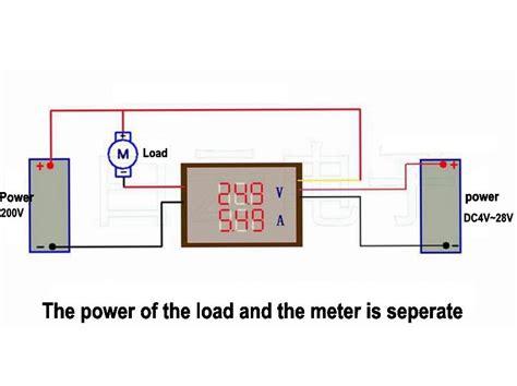 why the shunt resistor of the voltmeter is high digital 4 bit dc 200v 0 10a voltmeter ammeter panel blue led dual display shunt 12v 24v car