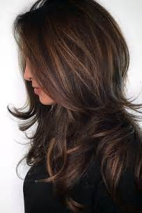color ideas 25 best ideas about highlights in brown hair on pinterest caramel hair highlights brown with