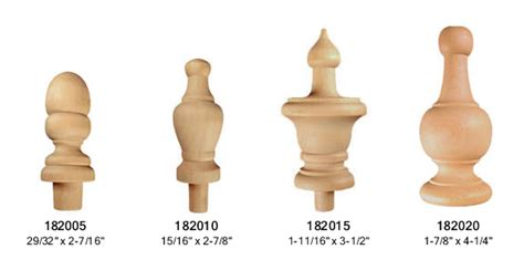 Drapery Designs small finial buy online high quality vintage woodworks