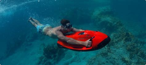 water scooter curacao introducing the seabob the world s fastest underwater