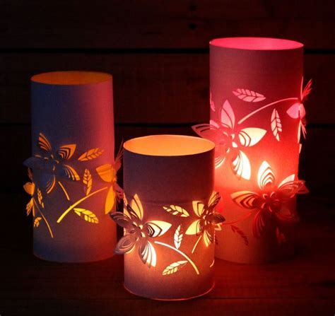 Paper Lanterns At Home - how to make dimensional paper lanterns