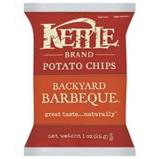 kettle brand potato chips backyard barbeque calories