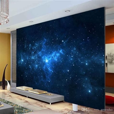 galaxy wallpaper for bedroom walls blue galaxy wall mural beautiful nightsky photo wallpaper