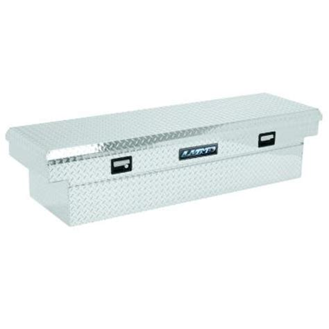 lund 58 in mid size aluminum truck tool box 9301 the