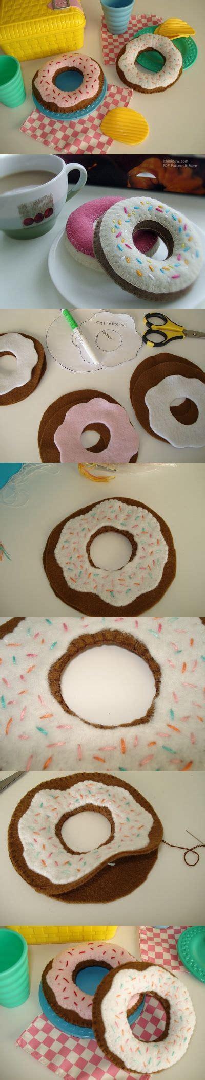 felt donut pattern pinterest the world s catalog of ideas