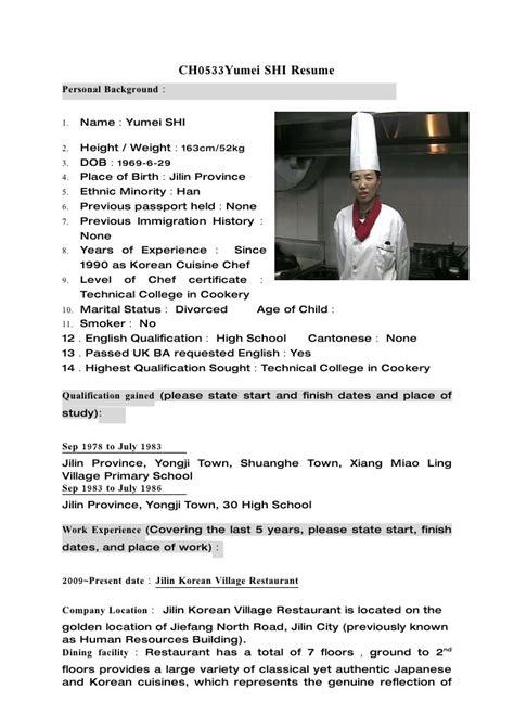 sle resume demi chef resume ixiplay free resume sles