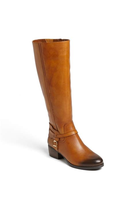 bcbgeneration boots bcbgeneration joseff harness boot in brown cognac lyst