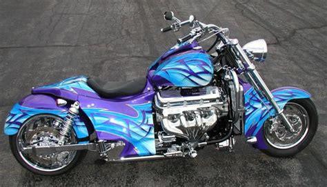 Boss Hoss Motorrad Modelle by 2007 Boss Hoss Blue 502 V8 Trikes Bikes Pinterest