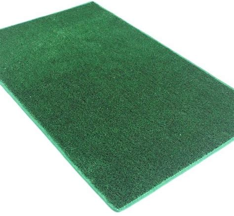 Green Indoor Outdoor Artificial Grass Turf Area Rug Carpet Outdoor Grass Rugs