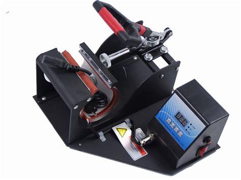 Mug Press Digital Desain Bebas free shipping sublimation mug press printing cup heat transfer machine for portable digital cup