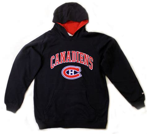 montreal canadiens reebok youth reebok pullover hooded
