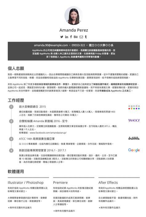 post resume for cakeresume resume icon by hana