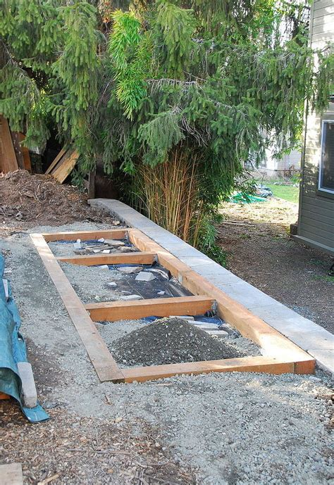 Shed Foundation Diy by Diy Wood Shed With Critter Proof Foundation Hometalk