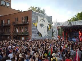 Craft Festival Mural Festival Montr 233 Al Downtown