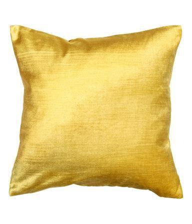 Yellow Velvet Cushion solid yellow velvet cushion cover