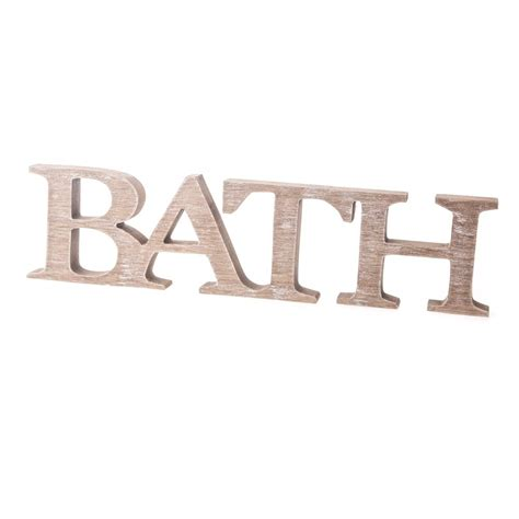 word for bathroom in england pin decorative word signs wall words on pinterest