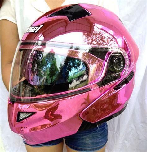helmet design for ladies masei pink women motorcycle racing helmets top abs open