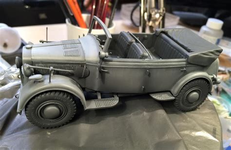 Amig 3011 Airfield Dust panzer i altres horch 901