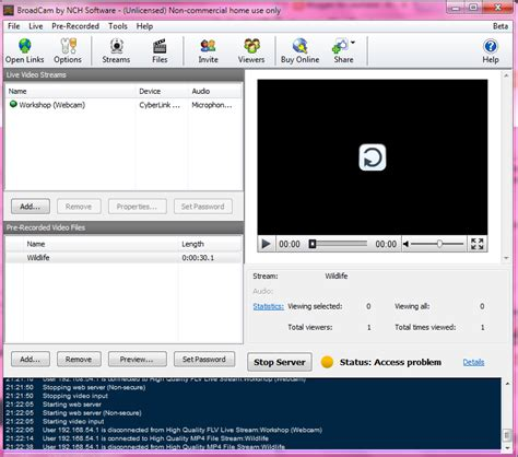 membuat web video streaming iin lesmana membuat server video streaming dengan
