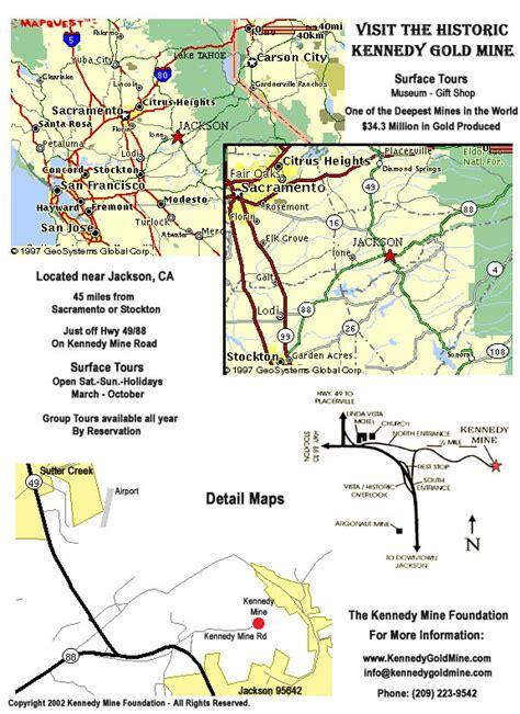 jackson california map jackson california map