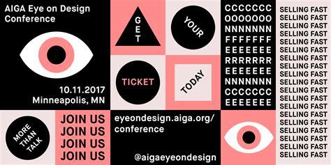 eye on design aiga eye on design conference eye on design