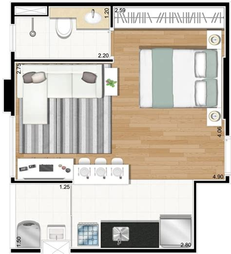 appartamento studio 17 best images about house plans on small