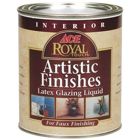 ace hardware royal ace royal touch artistic finishes latex glazing liquid
