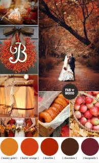 autumn wedding colors autumn wedding colors brown orange wedding colors