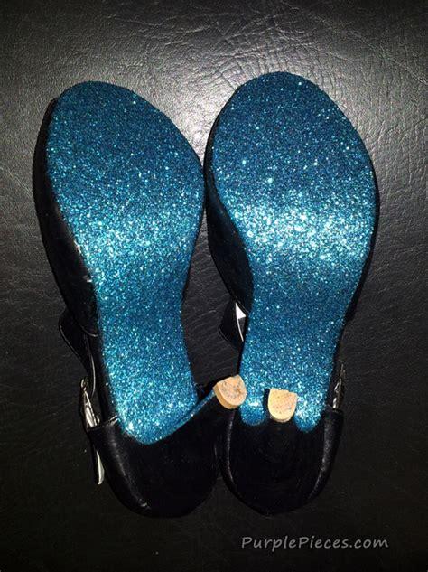 diy glitter shoes diy glitter shoe soles