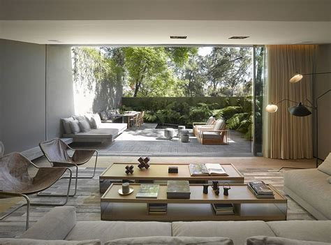large home interiors fine art picture doves courtyard 8 airy homes with giant glass walls that open to courtyards