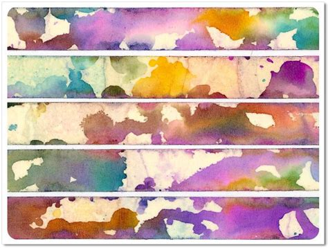 watercolor masking tutorial faux watercolor washi tape using regular masking tape