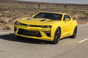 Chevrolet Camaro How Much 2016 Chevrolet Camaro Ss Test Motor Trend