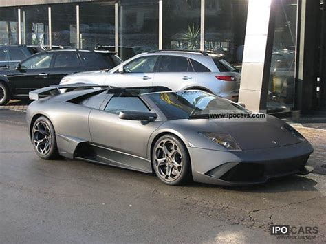 grey lamborghini murcielago 2006 lamborghini murcielago gtr matt grey car photo and