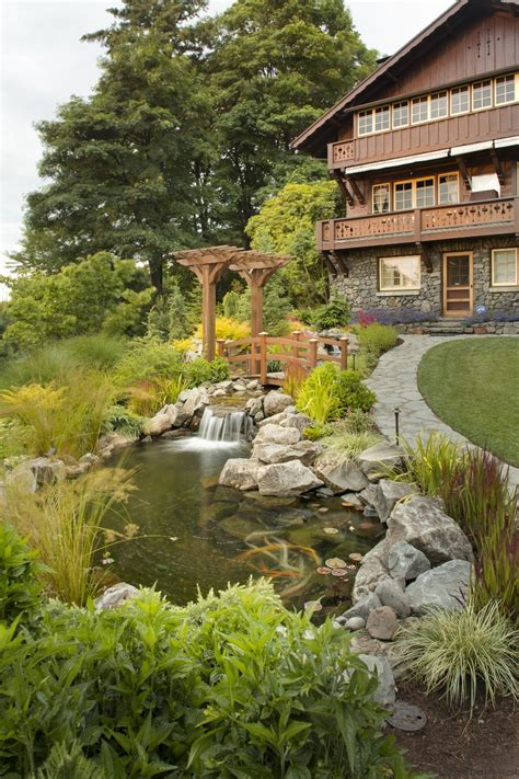 landscape design portland water feature designs for portland landscaping