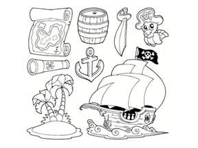 Coloriage Pirate 25 Dessins 224 Imprimer