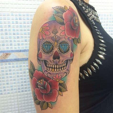 tattoo old school caveira tatuagem caveira mexicana mexican soul tattoo catrina