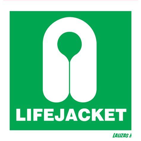 Imo Sign Jacket lalizas imo signs lifejacket